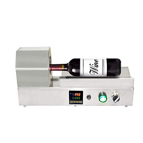 PVC Capsule Shrinker Thermostatic Digital Display Wine Bottle Cap Wrap Heat Shrinking Machine for Max Diameter 70mm PVC Capsules 110v