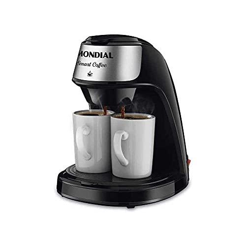 Cafeteira Elétrica Smart Coffe 2 Xícaras 127V Mondial - C-42-2X-BI