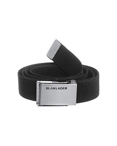 Blakläder 15021310 - Cintura elástica con Cierre metálica para Hombre, 130 x 4 cm, Color Negro