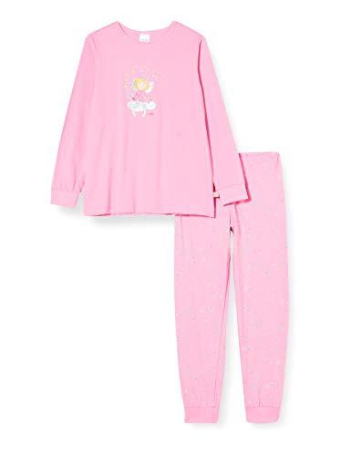 Schiesser Mädchen Prinzessin Lillifee Md Schlafanzug lang Pyjamaset, rosa, 116