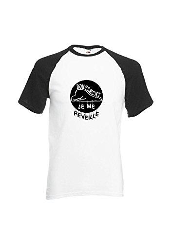 T-shirt, beer, met opschrift