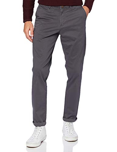 Jack & Jones Jjimarco Jjbowie Sa Asphalt Noos Pantalons, Gris, 31W x 32L Homme