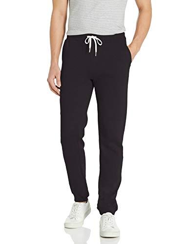 Quiksilver Men's Essentials Fleece Pant, Black, L