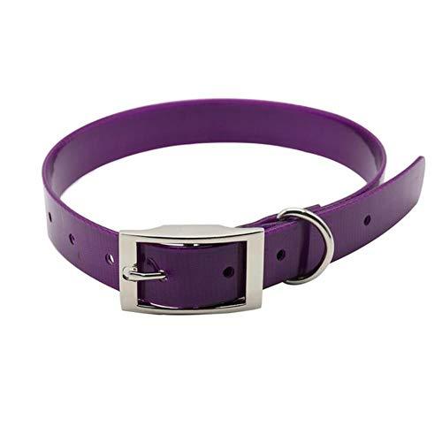 WXFJLR Verstellbare Hundehalsband 4,5 cm Breite Strapazierfähiges Nylonhalsband Outdoor Tactical Training Collar HaustierhalsbandHundepolizei Haustierprodukte, Grün, M