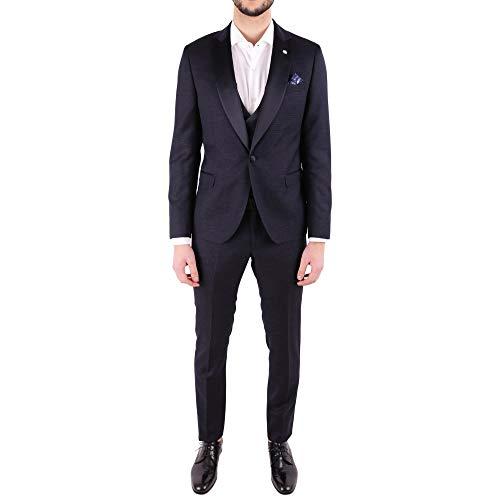 MANUEL RITZ Luxury Fashion Herren 2430ARW327918307789 Blau Polyamid Anzuge | Jahreszeit Outlet
