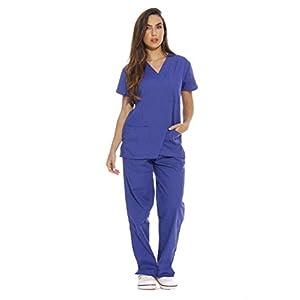 22253V-S Galaxy Blue Just Love Women's Scrub Sets / Medical Scrubs / Nursing Scrubs