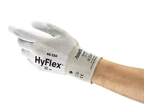 Ansell SensiLite 48-130 Spezialzweck-Handschuhe, Mechanikschutz, Weiß, Größe 8 (12 Paar pro Beutel)