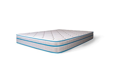 Dreamfoam Bedding Doze 9' Eurotop Mattress-Medium Comfort, Short Queen, Made in The USA