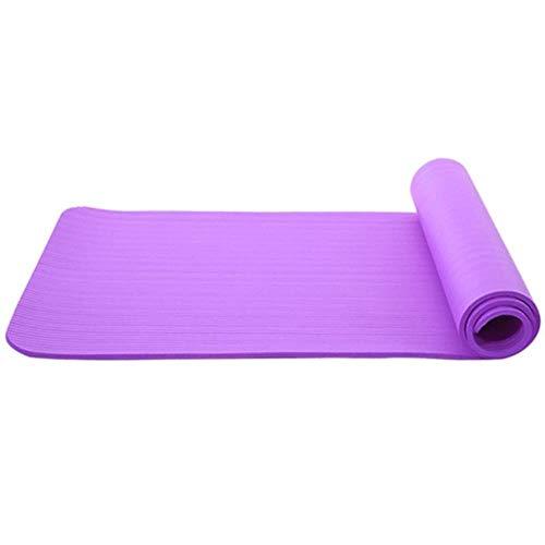 Gouen Yogamat Uitstekend vakmanschap Goed DuurzaamheidAntislipdeken Afvallen Pad Gym Home Fitnessapparatuur, paars