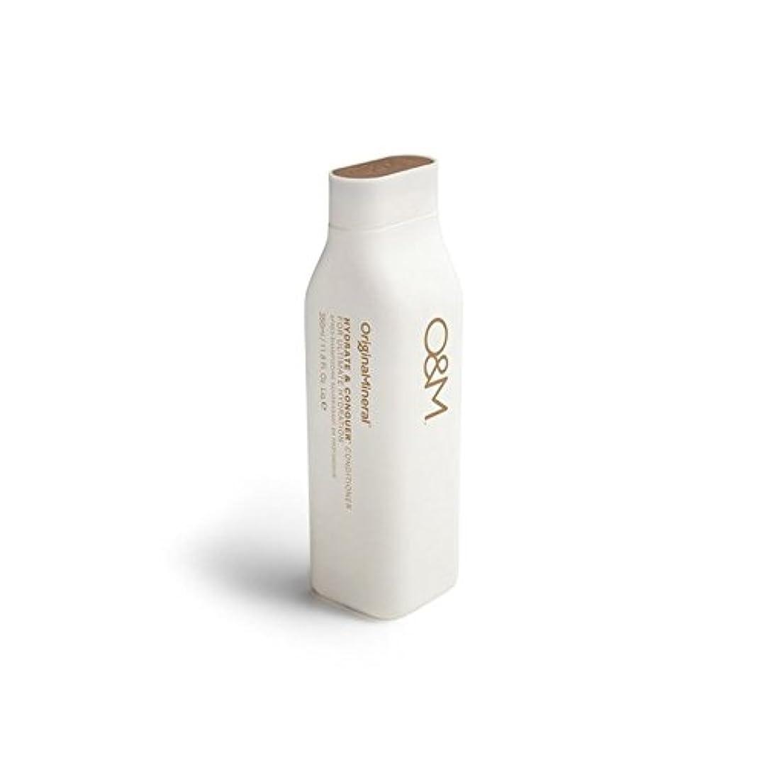 寝てるオーディション反響するオリジナル&ミネラル水和物及びコンディショナー(350ミリリットル)を征服 x2 - Original & Mineral Hydrate And Conquer Conditioner (350ml) (Pack of 2) [並行輸入品]