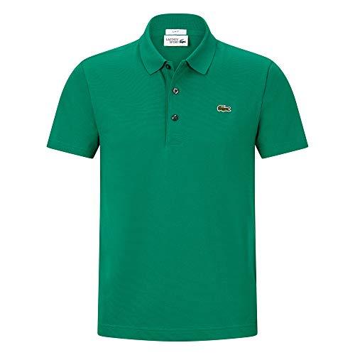 Lacoste YH4801 Uomo Polo Camicia Manica Corta,Uomini Polo,3 Bottoni,Aderente,Woodland Green(YFR),X-Small (2)