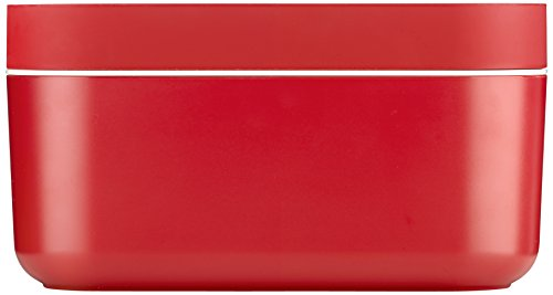 Lekue Red Ice Box, 8.9 x 4.9 in.