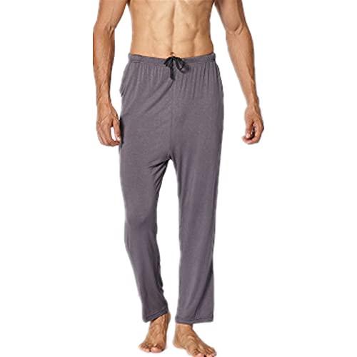N\P Pantalones casuales de los hombres Primavera Otoño Sueltos Más Tamaño de Casa