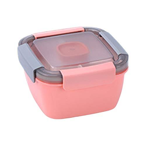 YU-HELLO Cajas de almuerzo separadas y selladas, loncheras a prueba de fugas y selladas, proporcionan almuerzos para estudiantes y trabajadores de oficina