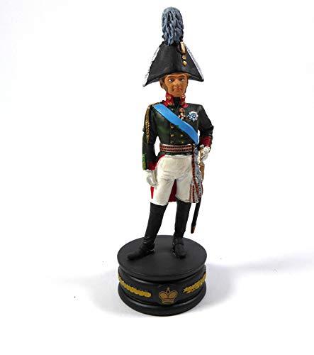 OPO 10 - Estatuilla de Soldado zar Alejandro 1er 1/32 60mm Colección Empire Imperial Guard Napoleon del Prado (N04)