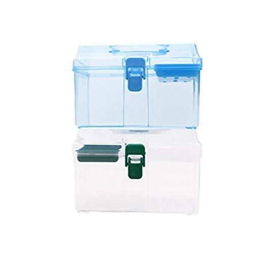 LICCC Kit di Pronto soccorso Familie Erste-Hilfe-Kasten, Hausapotheke, Aufbewahrungsbehälter, Familie Emergency Kit Speicher-Organisator