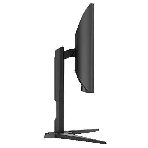 AOC C24G1 Gaming – 24 Zoll FHD Curved Monitor, 144 Hz, 1ms, FreeSync Premium, HDMI, DisplayPort) schwarz - 8