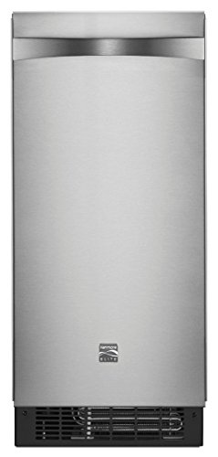 Kenmore 89593 15' Ice Maker with Drain Pump, Stainless Steel