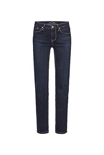 SOCCX Damen Regular Fit Jeans RO:My mit geradem Bein