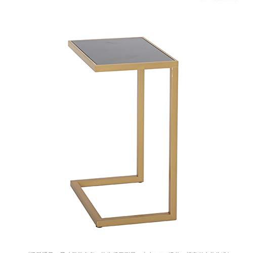 KXDLR Sofa Bed Side End Tafel, Overbed Tafel, C Vormige Tafel Laptop Houder, End Stand Bureau Koffie dienblad Bijzettafel, 45X32X64CM