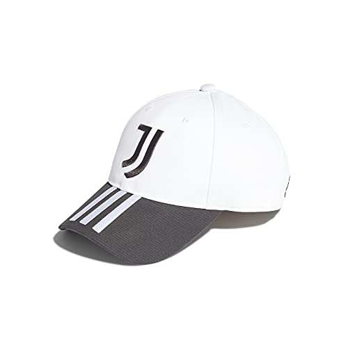adidas Gorra de la Juventus de Turín. negro/blanco Talla única