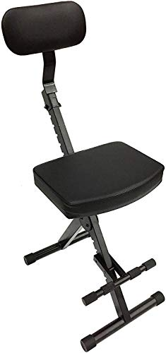 CedarsLink LK-STU Portable DJ/Guitar/Drum/Keyboard Padded Throne/Chair Adjustable