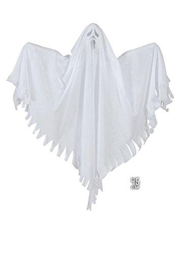 Widmann 01422 Deko Geist Gespenst, Leuchtend, Weiß, 45 cm