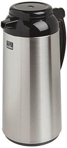 Zojirushi Garrafa térmica premium, 1,85 litros, aço inoxidável escovado