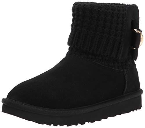 UGG Classic Solene Mini Boot, Black, Size 7