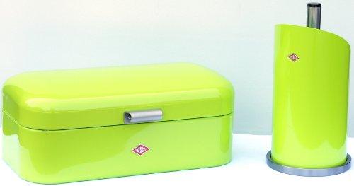 WESCO Set Original Grandy und Rollenhalter Farbe LIMEGREEN