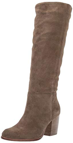 Crevo Women's Atty Knee High Boot, Taupe, 9.5 Medium US