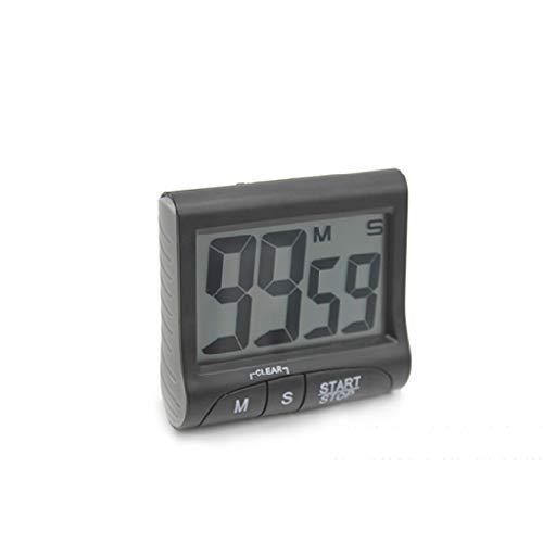 Catyrre Küchentimer 99min 59s Lauter Alarm Großer LCD-Rückenständer zum Kochen Schlafen