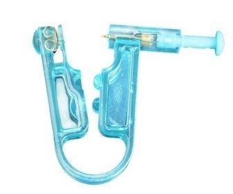 Beitsy Oído desechable Piercing con aretes de Acero Inoxidable Herramienta de Piercing Asepsis de Seguridad (1Pcs)