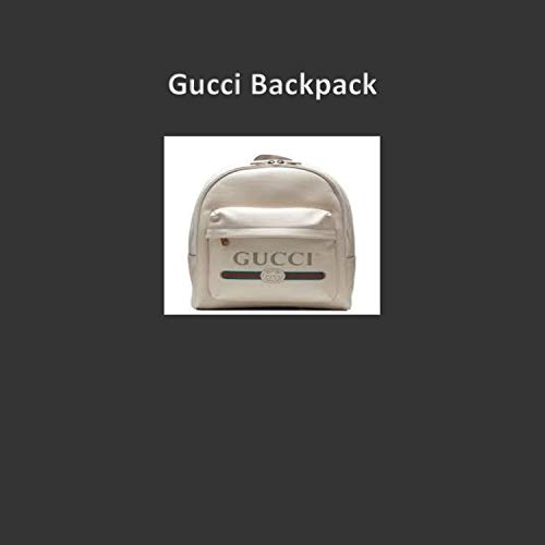 Gucci Backpack [Explicit]