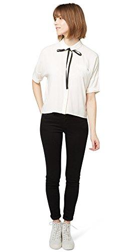 Tom Tailor Denim Jeans Jona Black Stone washed/601-Pantaloni Donna,