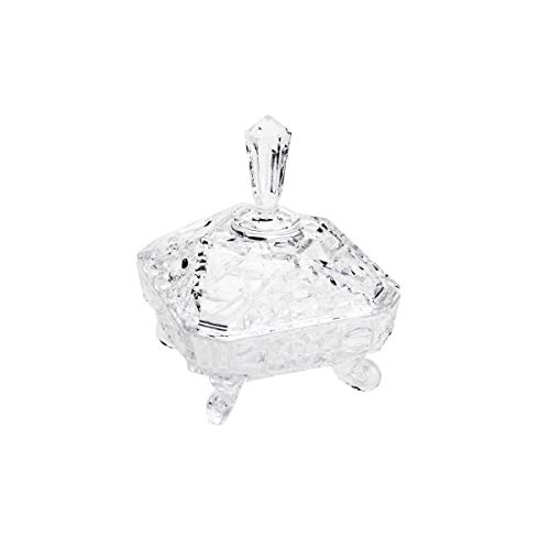 Bomboniere de Cristal Paladium Lyor Transparente 16 x 20 cm