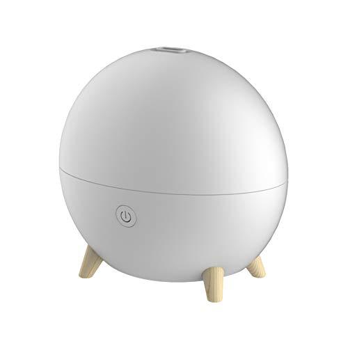 GLZM Difusor de Aroma Inalámbrico de 100 ml, Apagado Automático sin Agua, sin BPA, Luz Cálida, Humidificador de Niebla Fría para El Hogar, Yoga, Oficina, SPA, Dormitorio, Habitación de Bebé