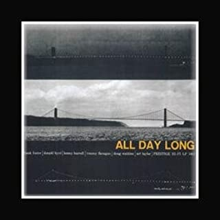 Stick It On Your Wall Frank Foster & Donald BYRD - All Day Long Mini Poster - 21.6x21.6cm