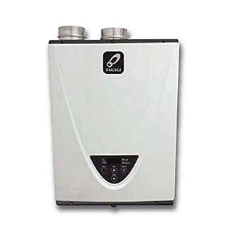 Takagi T-H3-DV-N Condensing High Efficiency Natural Gas Indoor Tankless Water Heater 10-Gallon Per Minute 199,000 BTU