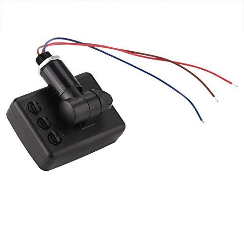 Emoshayoga Sensor PIR Interruptor de luz Sensor de Movimiento infrarrojo Detector de Infrarrojos Jardín hogar