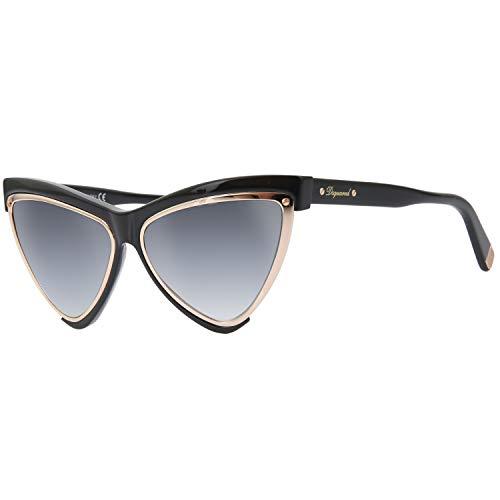 DSQUARED2 Dsquared DQ0240 57-011 01B Gafas de sol, Negro (Schwarz), 57 Unisex Adulto