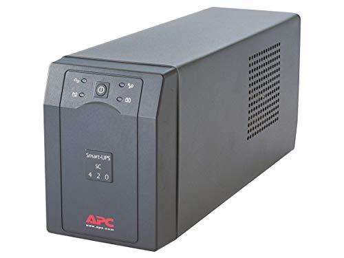APC Smart-UPS SC - SC420I - Gruppo di Continuità (UPS) 420VA (Line Interactive, 4 Uscite IEC-C13, Software di Shutdown)