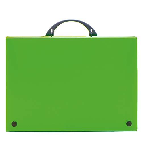 Grafoplas koffer Folio Groene bloem.