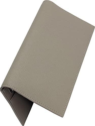 [Dom Teporna] 長財布 メンズ 牛革 極薄1cm YKKファスナー 小銭入れあり 薄い 財布 お札入れ カード入れ グレー