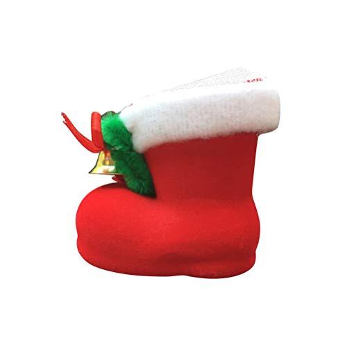 Healifty Décoration de Noël Grille d'aération de voiture Décoration de Noël de coffre Parfum Parfum Clip Auto Air Conditioner Outlet Ornement Petit Organiseur