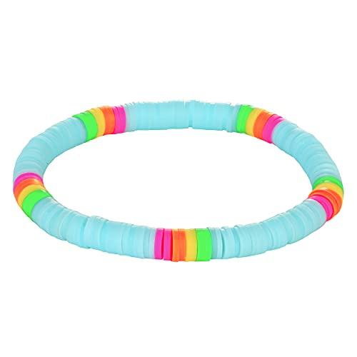 C·QUAN CHI Bracelet Heishi Original Bracelet Elastique pour Femme Bracelet Huawei Fantaisie Bijoux Personnalisés
