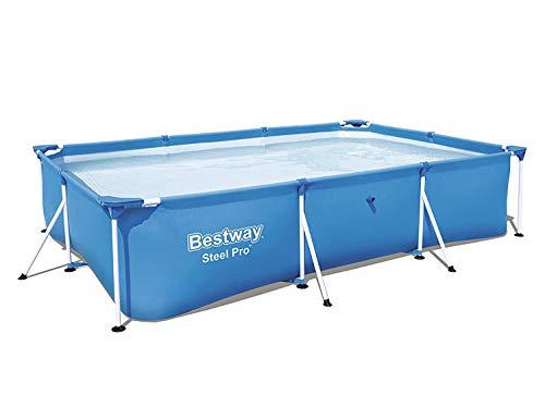 Bestway 56404 - Set piscina 3 in 1, 300 x 201 x 66 cm, con pompa per il filtro da 2006 l/ora
