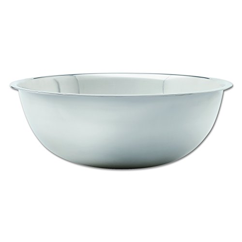 Adcraft SBL-30 30 qt Capacity, 22-5/8' OD x 7-1/2' Depth, Stainless Steel Extra Large Mixing Bowl with Mirror Finish