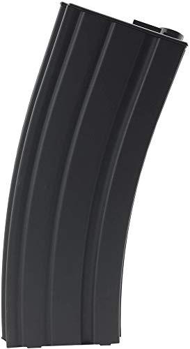 SportPro 140 Round Metal Medium Capacity Magazine for AEG M4 M16 Airsoft – Black