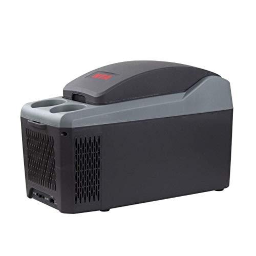 TUNBG Tragbare Gefriertruhe Autokühlschrank, mobiles 10-l-Heiz- und Kühlgehäuse mit doppeltem Verwendungszweck